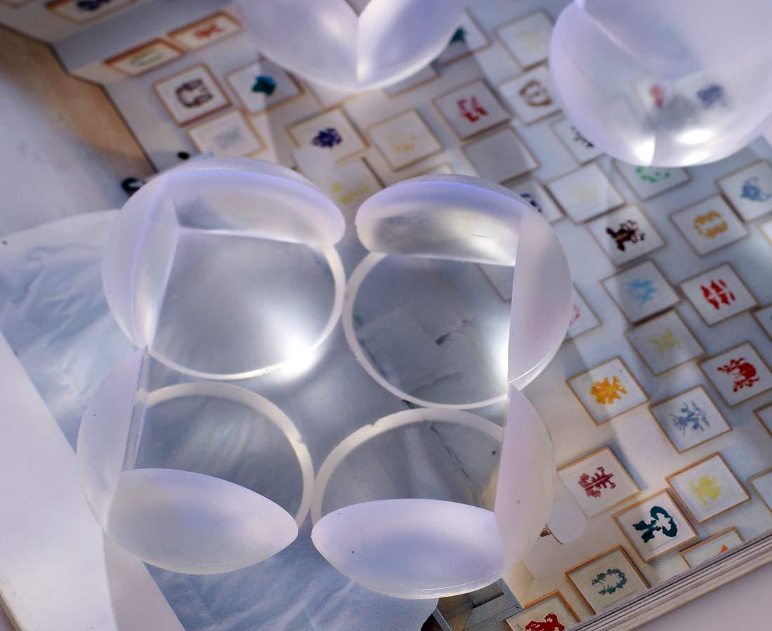 Gray Corners Table Edge Guard,Jiechang Baby Toddler Cushion Protector,Edge /& Corner Guard Set,Soft Non-Toxic and Environmentally Friendly 8Pcs