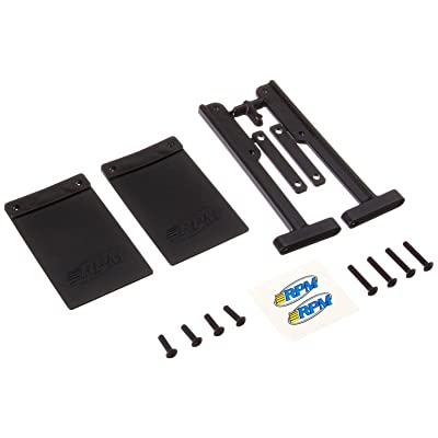RPM 81012 Mud Flaps Bumper Slash Black: Toys & Games