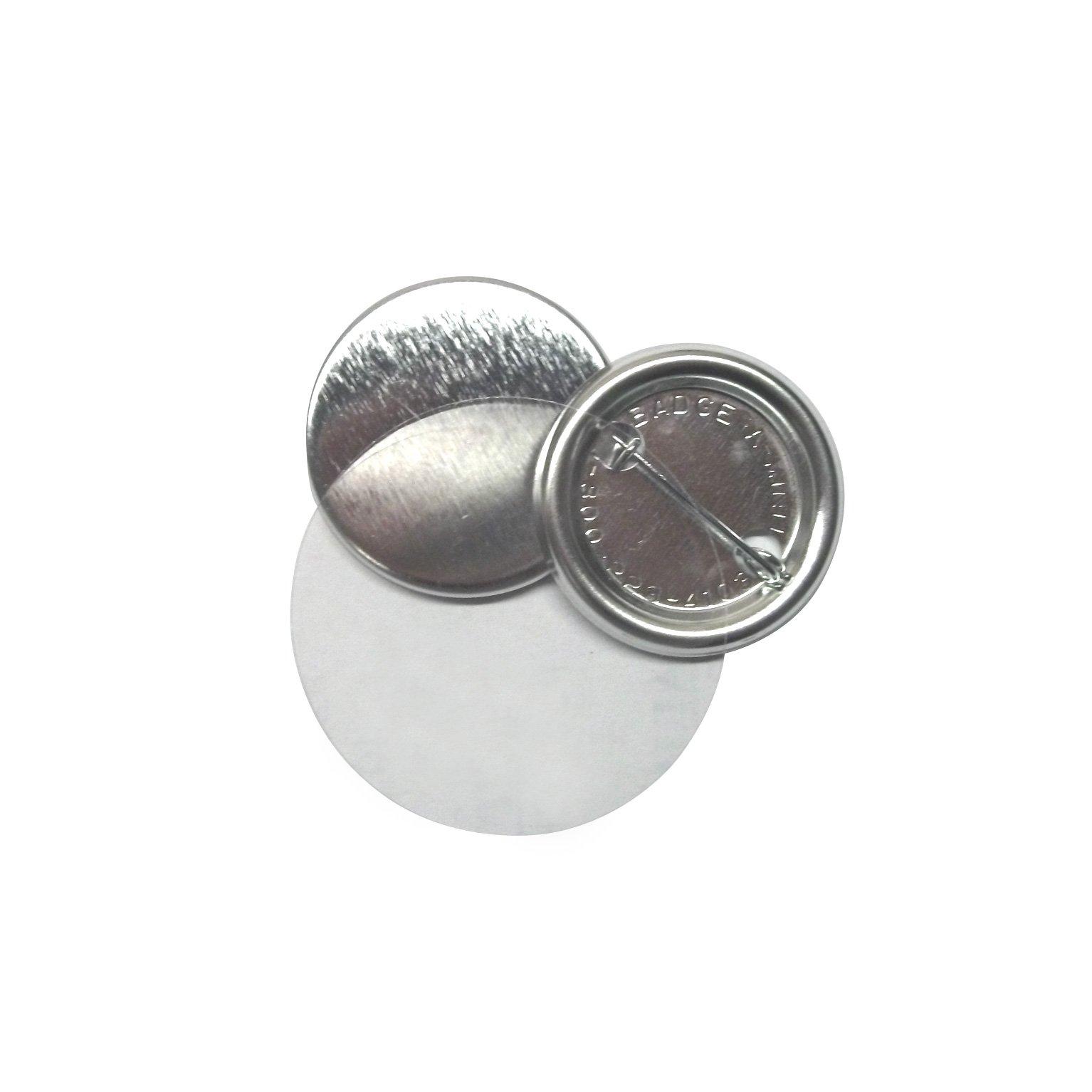 Badge-A-Minit 3061-E 1 1/4'' Genuine Badge-A-Minit Pin-Back Button Sets - 500 sets