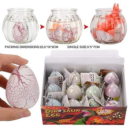 SELMAL Dinosaurio Huevos para incubar, Huevos de Pascua ...