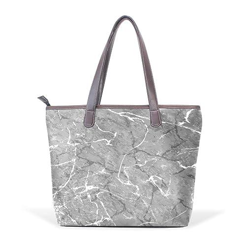 Amazon.com: Bolsas de hombro para mujer, diseño de mármol ...
