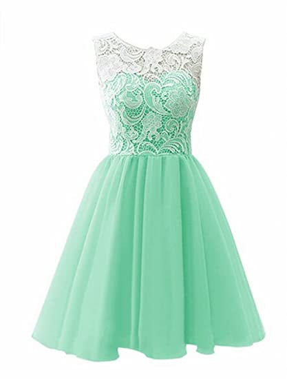 Leader of the Beauty Short Prom Dress Bridesmaid Homecoming Gown Mint UK 8
