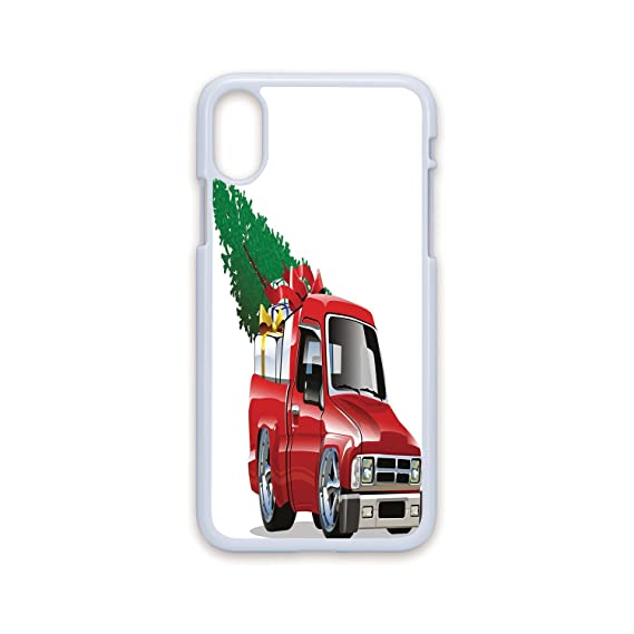 Truck Edge Mobile >> Amazon Com Phone Case Compatible With Iphone X White Edge 2d Print