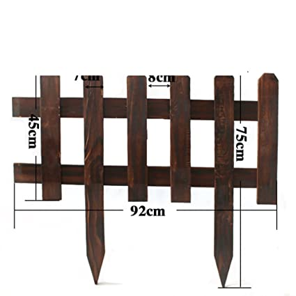 Anti Corrosion Wood Fence,Outdoor Garden Fence Garden Flower Mesh Snow Fence  Solid Wood