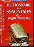 dictionnaire des synonymes del la langue francaise maxi poche references french edition