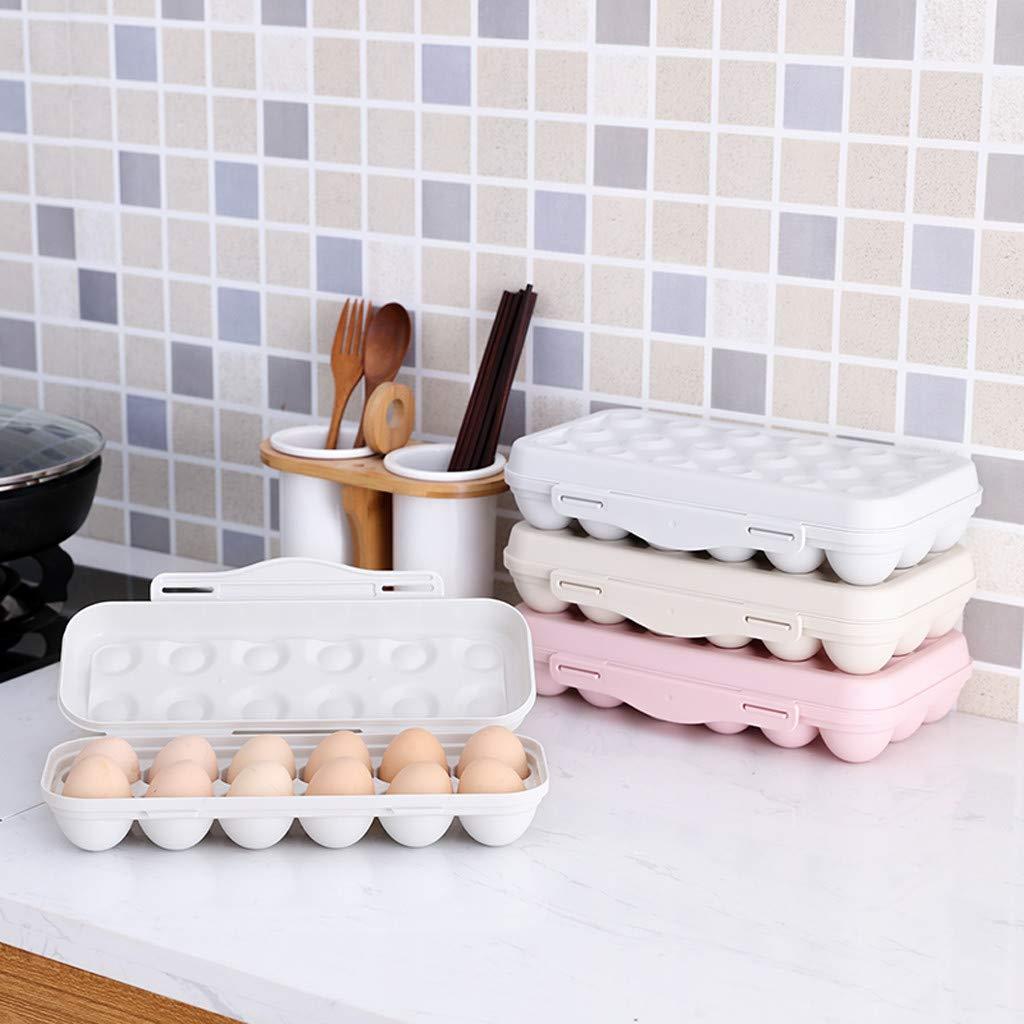 Porte-Plateaux /à /œufs Bo/îte /à /œufs R/éfrig/érateur Bac /à l/égumes Rose IYU/_Dsgirh Bo/îte /à /œufs