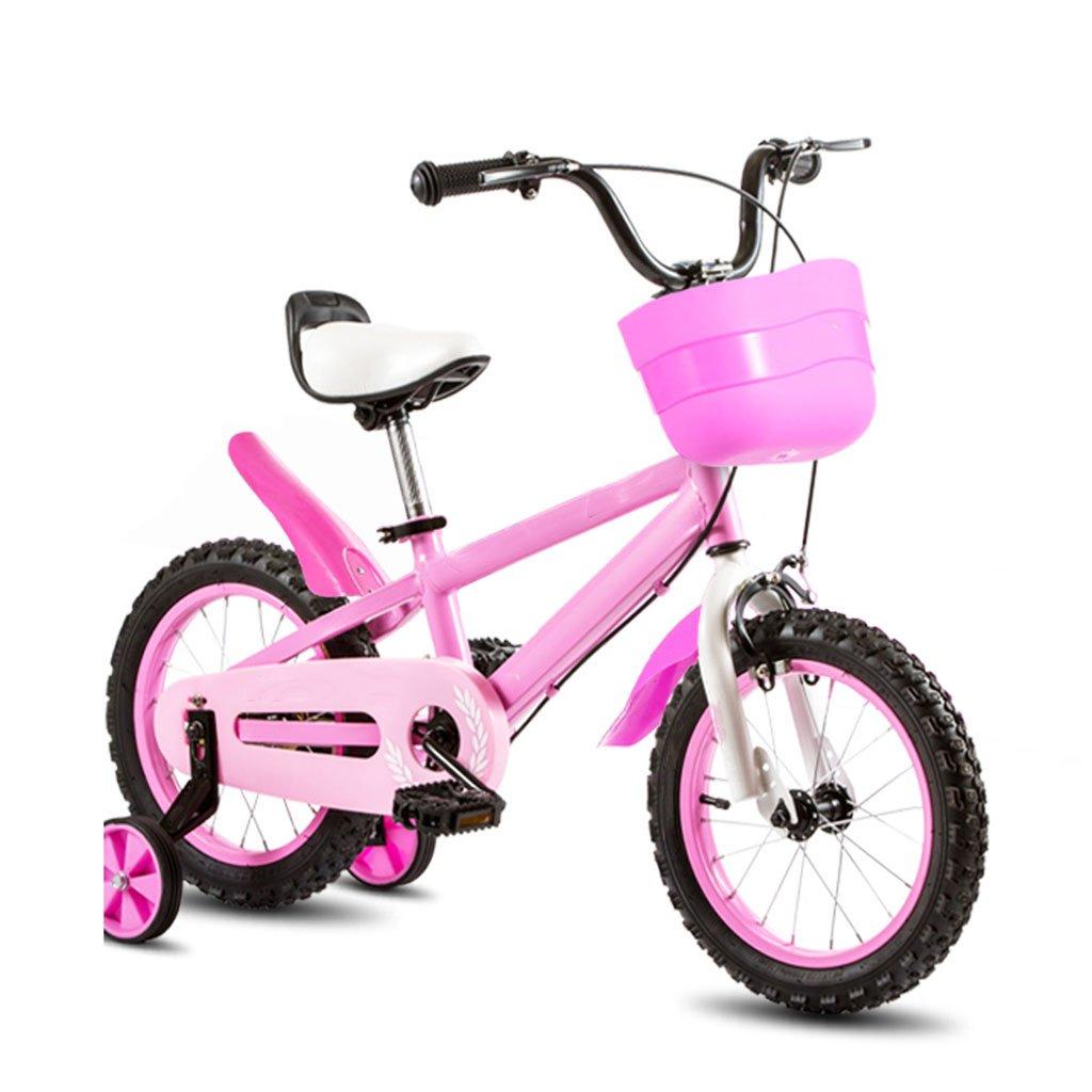 CGN子供用自転車、ベビー用ベビーキャリッジ子供用自転車 soft B07C4RF24C ピンク ぴんく ピンク ぴんく