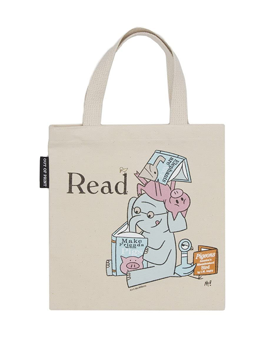 70a1963c63b9 Out of Print Literary and Book-Themed Canvas Tote Carrying Bag for Book  Lovers, Readers, and Bibliophiles