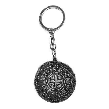 Uncharted ke230120unc antiguo moneda llavero de metal ...