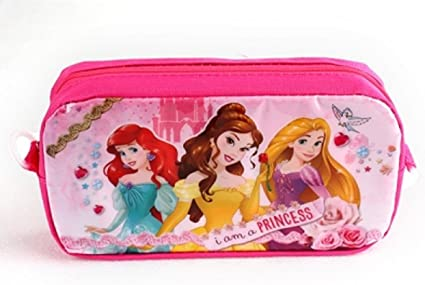 Estuche para lápices Disney Princesses Girls - 20cm x 10cm x 5cm: Amazon.es: Oficina y papelería