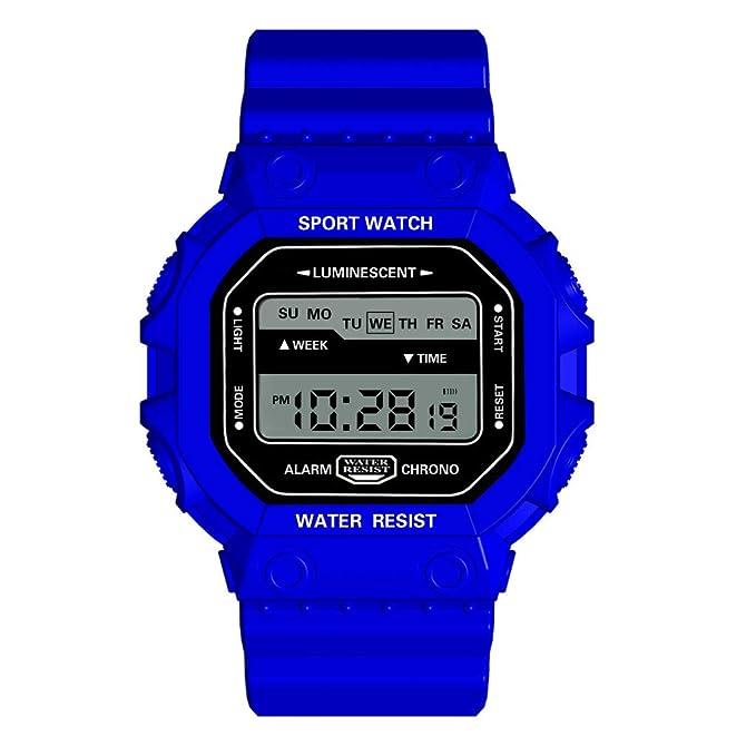 Fitfulvan - Reloj analógico Digital de Lujo, para ...