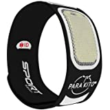 Para'Kito Mosquito Insect & Bug Repellent Wristband - Waterproof, Outdoor Pest Repeller Bracelet w/Natural Essential Oils - S