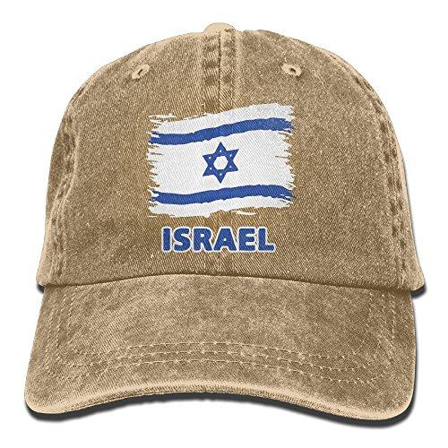 Baseball Cap Israel Flag Women Golf Hats Adjustable Dad Hat