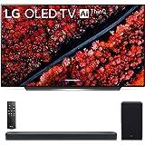 "OLED65C9PUA 65"" C9 4K HDR Smart OLED TV w/AI ThinQ (2019 Model) w/ SL8YG 3.1.2 Channel High Res Audio Sound Bar"