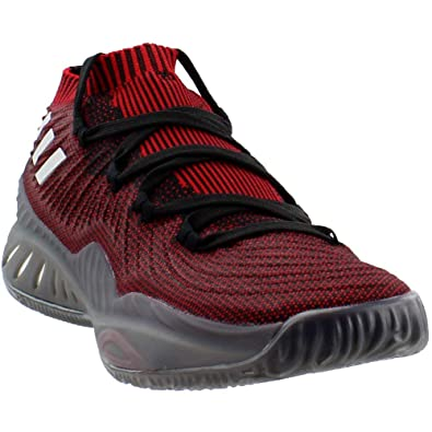 separation shoes c865e 81f14 adidas Crazy Explosive 2017 Primeknit Low Shoe - Men s Basketball 7 Core  Black Scarlet