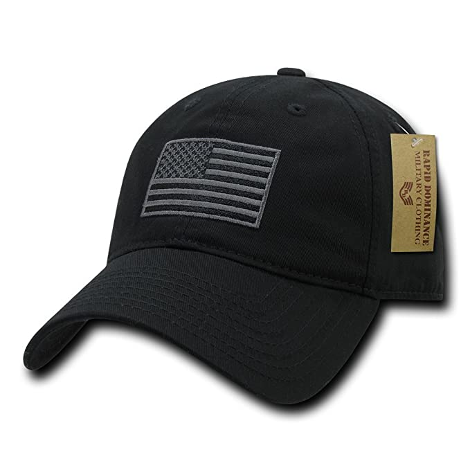 Amazon.com  Rapid Dominance Polo Style USA Caps bc248dc5142b