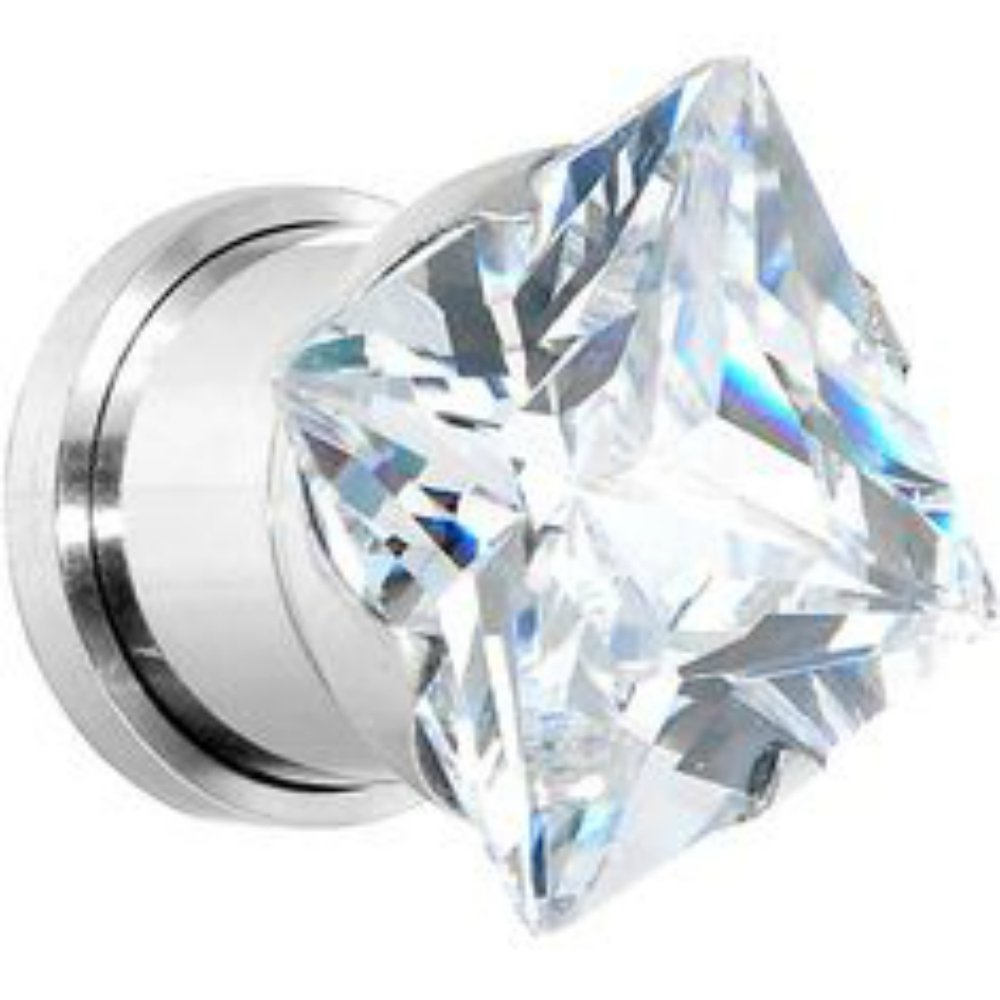 Amazon.com: Inspiración Dezigns cuadrado corte de diamante ...