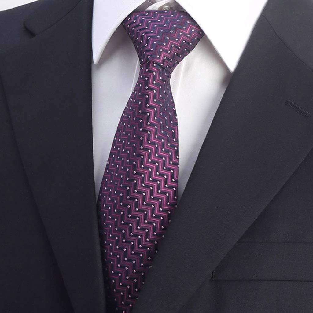 YYFRB Traje Profesional para Hombres Corbata de Seda de Negocios ...