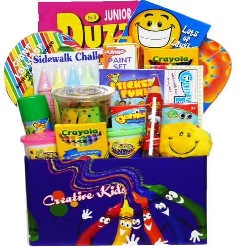 Art of Appreciation Gift Baskets Crafty Kids Fun & Activity Gift Box