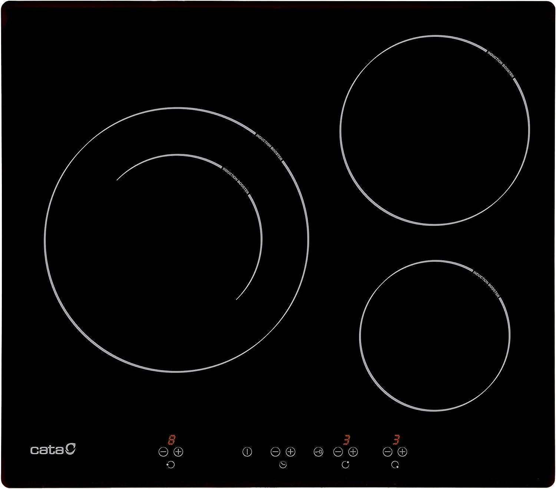 Cata IB 6203 BK Placa inducción, 1500 W, Cristal, Negro: 250.47: Amazon.es: Hogar