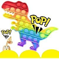 Pop It Fidget Toy Bubble Brinquedo Sensorial AMG Dinossauro