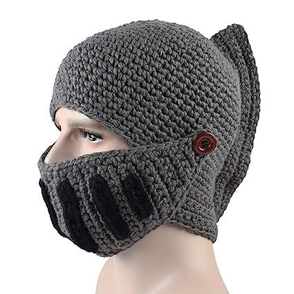 Amazoncom Vorcool Roman Knit Knight Helmet Warm Hood Ski Bike