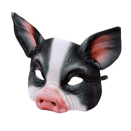 ALISIAM Máscara Unisex de Halloween Fiesta de Disfraces de Villano ...