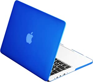 "TopCase Rubberized Hard Case Cover for Macbook Pro 15"" A1286 -NOT for retina display- with TopCsse Mouse Pad (ROYAL BLUE)"