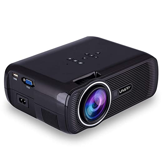 Hihey Proyector LED Proyector de Video UHAPPY U80 Plus 1080P Full ...