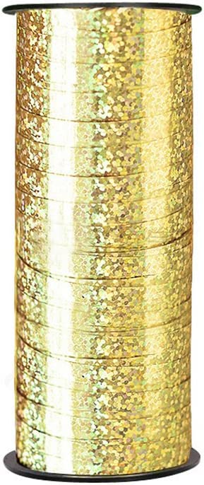 Gold ROSENICE Ringelband Balloon Curling Band 100 Yard DIY Polyband f/ür Party Festival Geschenkverpackung