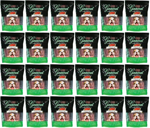 Loving Pets Gourmet Duck Jerky Strips 18Lb (24 x 12oz) by Loving Pets