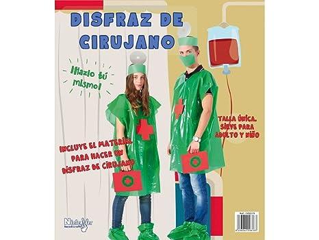Niefenver 1500105 - Disfraz Bolsa Plástico Cirujano ...