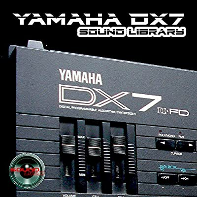 YAMAHA DX7 - THE very Best of - HUGE Sound Library Original Samples in WAVEs format on CD from SoundLoad