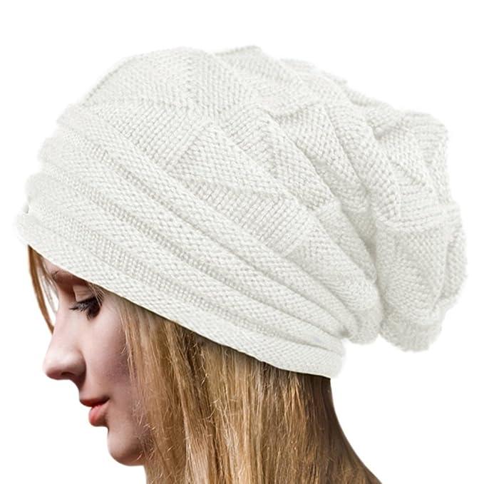 Tuopuda Cappello Donna Beanie Invernale Cappelli Donna Berretti Maglia per  Donne (blanc)  Amazon.it  Abbigliamento 7b84474995c5