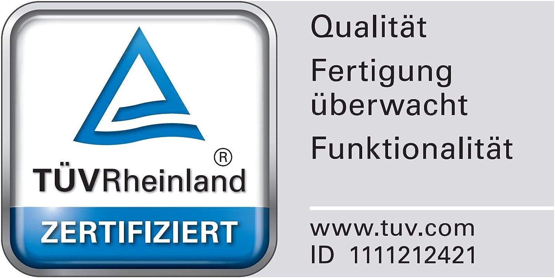 Spirella Badewannenkissen Alaska Beige mit 8 Saugn/äpfen antibakteriell rutschhemmend 23 x 32 cm waschbar Made in Germany