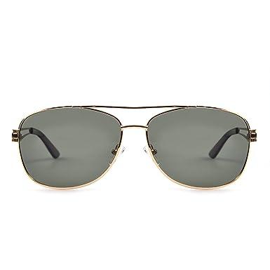 Unisex Alloy Park Titanium Frame Gold Highland Police Sunglasses rdtQshC
