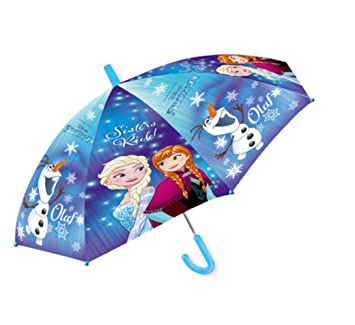 Frozen – Paraguas – Anna y Elsa – Frozen – El Mango para niño Manos es