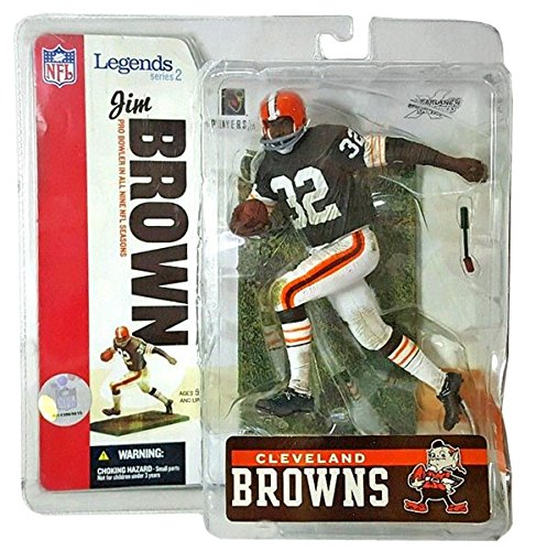 "McFarlane Toys 6"" NFL Legends Series 2 - Jim Brown"