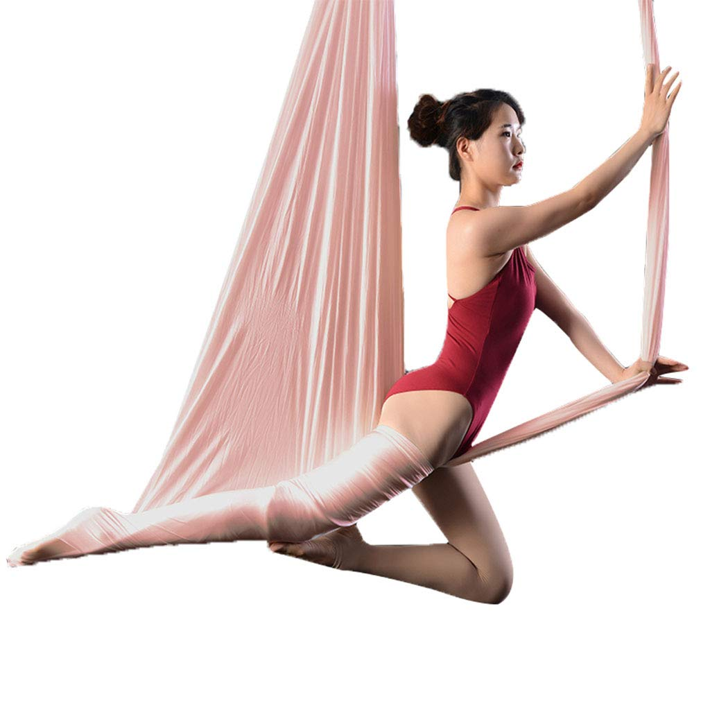 Yoga Aerial Aerial Hängematte Indoor Höhe Hängematte Aerial Silk Set Inverted Praxis Zubehör Anti-Schwerkraft Schaukel Studio Inverted Tool, Ca. 300 Kg Geladen Aerial YOG