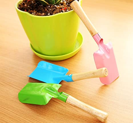 Amazon.com : Ruikey Small Gardening Shovel Household Digging Lawn Trowel Shovel Hand Tool, Trowel Shovel Scoop for Kids : Garden & Outdoor