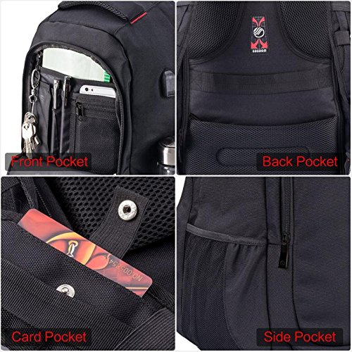 Laptop Backpack Sosoon Business Laptop Bags With Usb