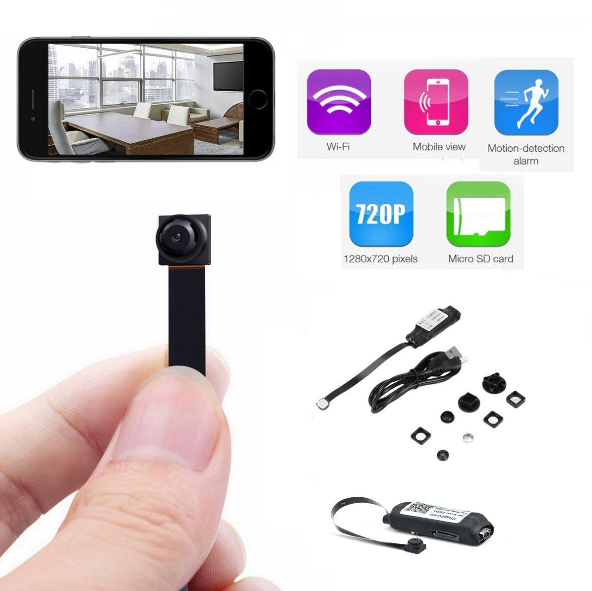 NeeGo Hidden Remote P2P Espia HD DVR CCTV SD WiFi Ip Wireless Mini Spy Camera