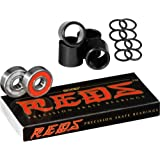 Bones Bearings Reds Bearings (8 Pack, Spacers & Washers)