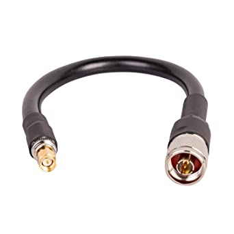 TIMES® 30 Feet ULTRA LOW LOSS LMR400 N Male to N Female Clamp RF COAX Cable USA