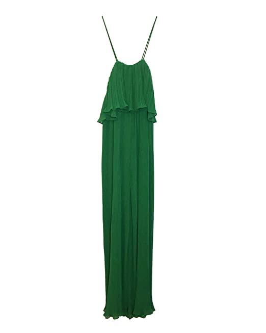09495660 Amazon.com: Zara Women Pleated Jumpsuit with Straps 4786/060: Clothing