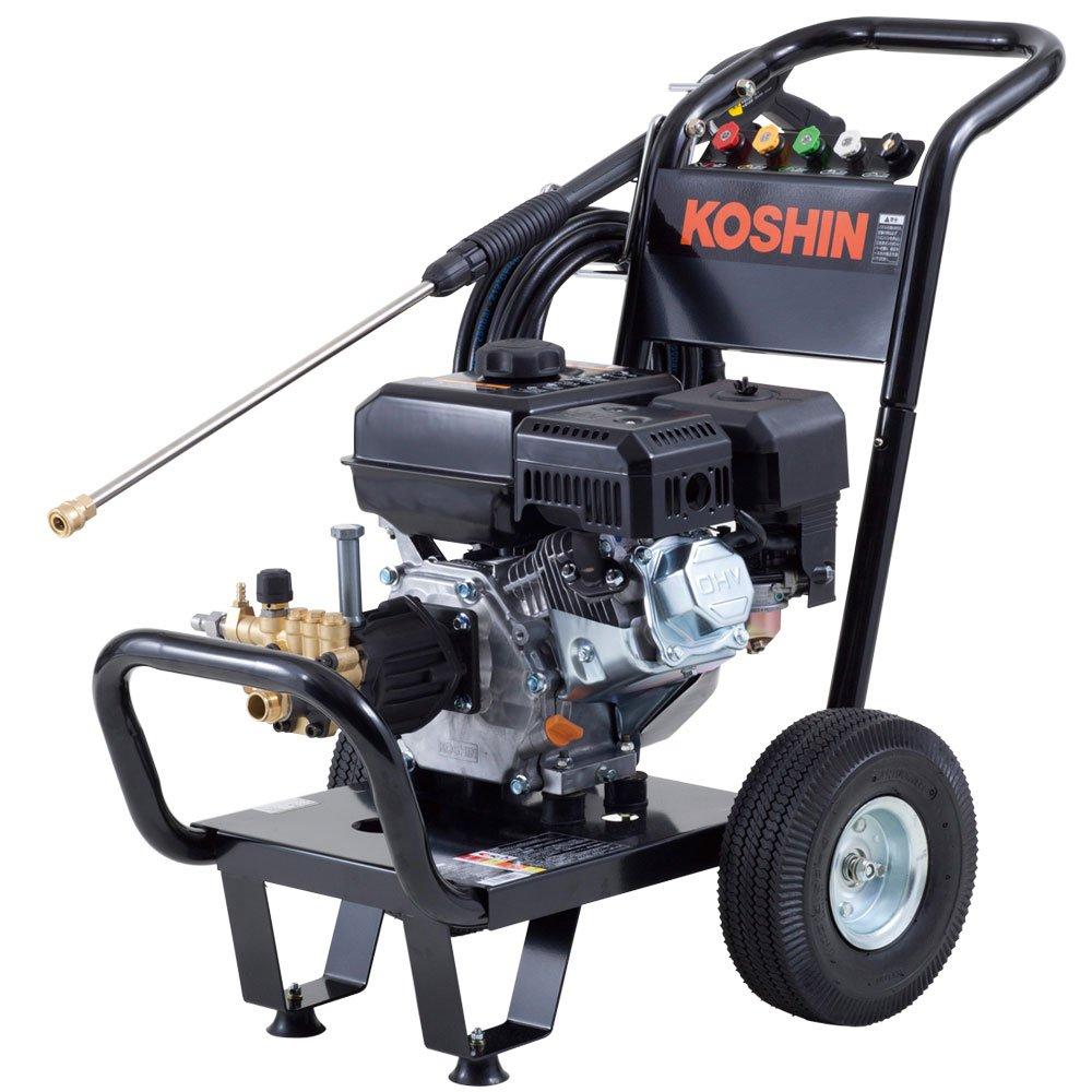 工進 エンジン式高圧洗浄機 14mpa 車輪付タイプ JCE-1408UDX product image