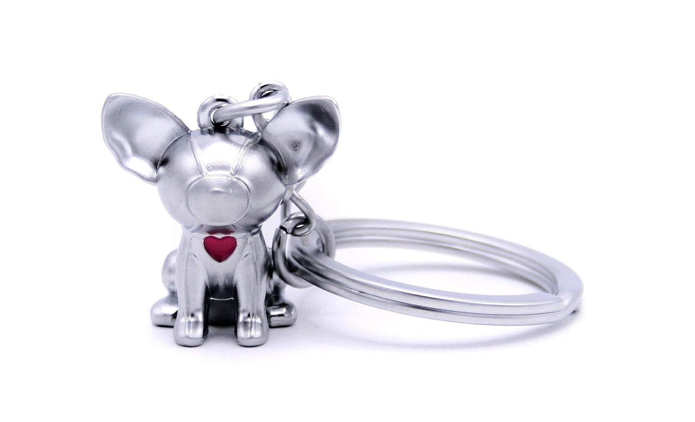 Amazon.com: Llavero Perrito Perro 3d encanto con hermoso ...