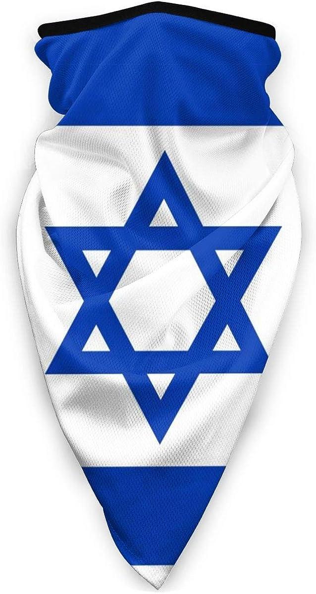 Nigel Tomm Israel Flag Mask Sports Bandana antivento Bandana Collo Ghetta fascia passamontagna nero