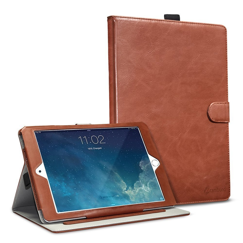 iPad Mini Case PU Leather Ultra Slim Sleep Awake Smart Stand Cover ...