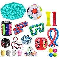 Sensory Toys set, 22-pack fidgetleksak, lindrar stress och rädsla för barn vuxna, bunt sensorterapi leksak för ADHD…